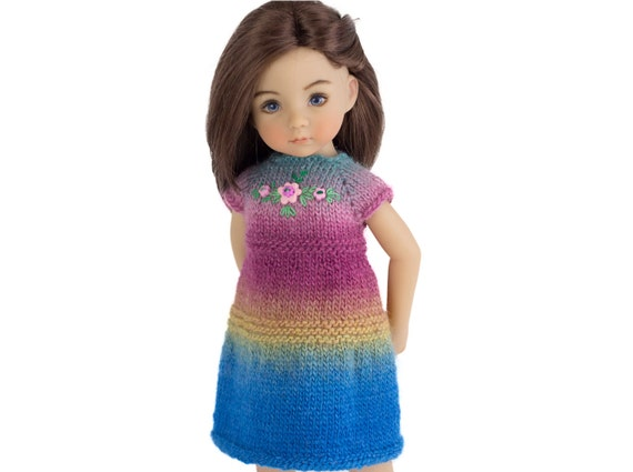Knitting Patterns For 13 Inch Dolls : Knitting Pattern Little Darling Dolls 13 inch Doll by ...