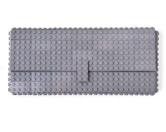 Dark grey clutch purse made with LEGO® bricks FREE SHIPPING purse handbag legobag trending fashion