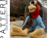 INSTANT DOWNLOAD : Thaddeus the Thankful Turkey Crochet Pattern