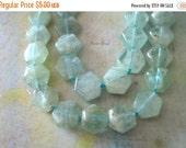 20% OFF ON SALE Aquamarine Hexagon 9mm Beads, 6 pcs, Gemstone Beads