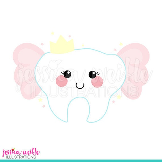 tooth fairy cute digital clipart tooth fairy clip art