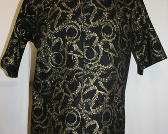 Hand Made Aloha Style Arthritic Unisex Shirt size Medium
