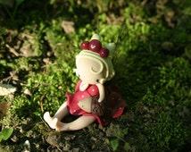 Hedgehog Fairy Figurine
