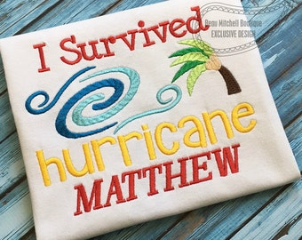 I survived hurricane MATTHEW