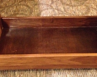 Walnut doll bed (Fits 18 inch dolls and American Girl Dolls)