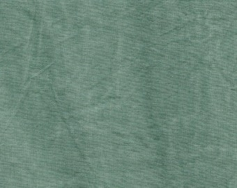 New Aged Muslin from Marcus Fabrics - Full or Half Yard Aquamarine Distressed Parchment Look Blender - 7696-0117