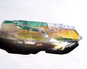 Opal Aura / Angel Aura Quartz Crystal Point Wicca Reiki Metaphysical #9