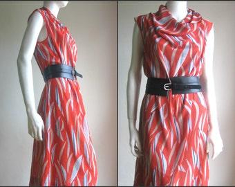 70s 80s vtg sheer dress
