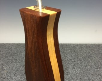 Wood Vase ~ Flower Vase ~ Candle holder~ ~ Tall Wood Vase~Bud Vase~Sculptured Wood Vase~Wedding Gift~ Anniversary Gift~Unique Wood Vase