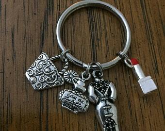Fashionista key chain