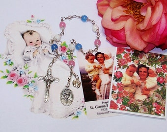 Unbreakable Catholic Chaplet of St. Gianna Beretta Molla - Patron Saint of Pregnant Women and Against Abortion