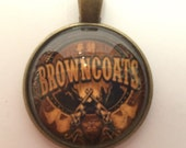 Firefly / Serenity Browncoats Necklace - 25mm Pendant