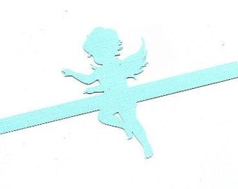 Sweet angel napkin ring set of twelve