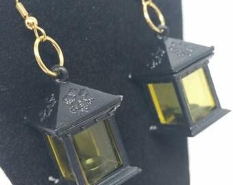 Square Lantern Earrings