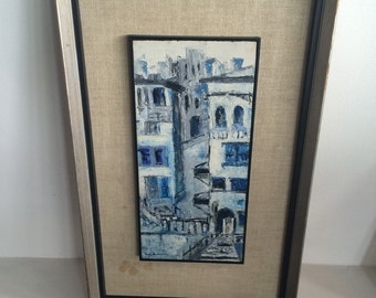 Anne Rosenstone Cityscape Painting Modern Art