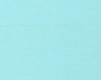 Organic FLANNEL Fabric - Cloud9 Flannel - Solid Powder Blue