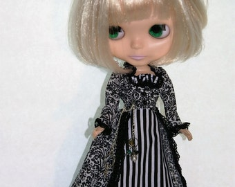 Black and White Suit for Blythe by Modmoiselle