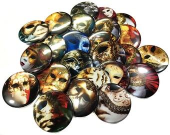 """Masquerade, 1.5"""" Button, Masquerade Button, Masquerade Pin, Masquerade Gift, Masquerade Decor, Masquerade Badge, Masquerade Party Favor"""