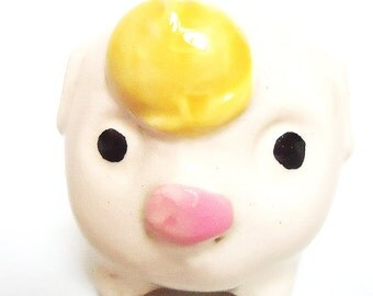 The Japanese Vintage Pig Toothpick Holder.50s