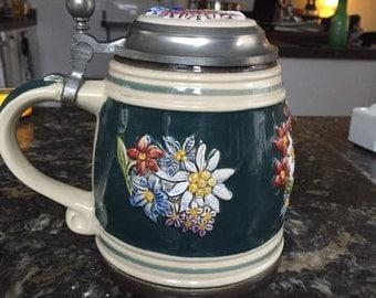 Vintage Gerz Of  Germany Alpine Green Limited Edison Stein