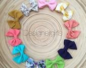 SALE |Classic MINI bow| you choose color, clip or headband