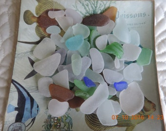 seaglass naturally tumbled and done!