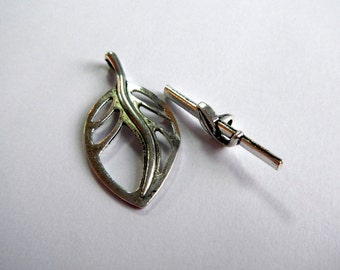 Silver Toggle Clasp ~ Wholesale Jewelry Supplies