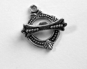 Silver Toggle Clasp