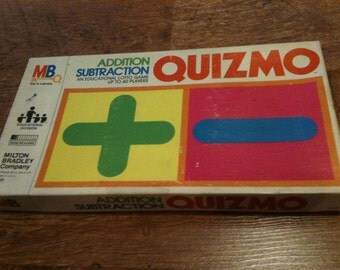 Vintage Quizmo Addition and Subtraction Game