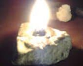 Stone Altar Lamp