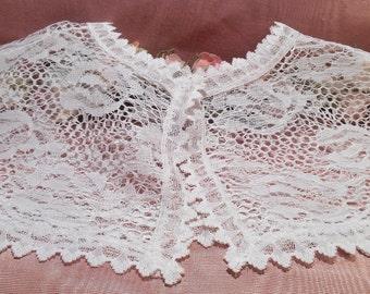 Vintage Lace 1930s  Dress Collar Craft Supply