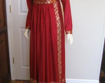 Silk Regency Ballgown size 12
