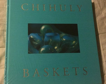 Chihuly Baskets blowing glass art Book Northwest Indian Baskets OUT OF PRINT hardback book Seattle Washington