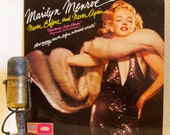 "ON SALE Marilyn Monroe Vinyl Record Album LP 1950s Mid-Century Sex Symbol ""Never Before And Never Again"" (1978 Drg w/""Happy Birthday Mr. Pre"