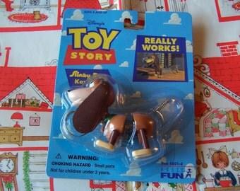 toy story slinky dog keychain
