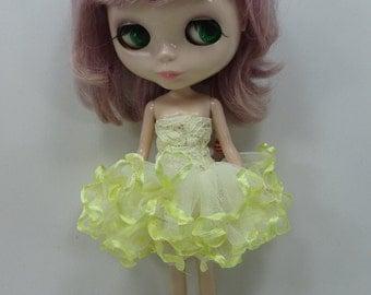 Blythe Outfit Clothing Cloth Fashion costume dress Fairytopia Ballerina Fantasy Fairy Angel 300-11