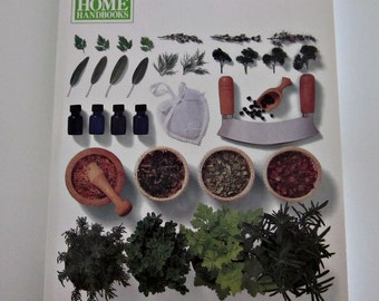 Vintage Readers Digest HERBS - RD Home Handbooks Herbs, Editor Lesley Bremness - Soft Cover Guide to Growing and Using Herbs