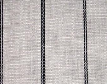 RUSTIC WOVEN Black Stripe multipurpose fabric