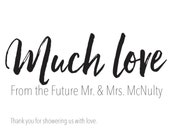 70 Custom Thank You Cards for Michelle