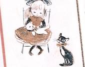 Little Mother Book Rosalind Welcher mid century little hardcover
