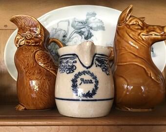 Anna, Antique European Stoneware Pottery
