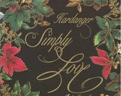 SALE Embroidery Designs Hardanger Simply Love by Janice Love 1991 Embroidery Stitches Embroidery Patterns Embroidery Projects