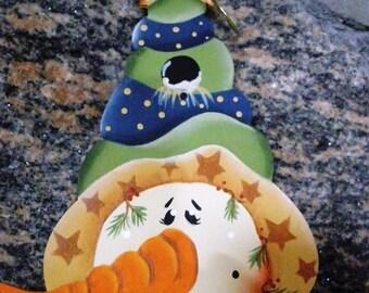 Snowman Top Hat Ornament