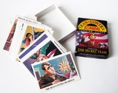 Iran Contra Scandal Trading Cards Stocking Stuffer - The Secret Team - Paul Brancato - Trivia 1988