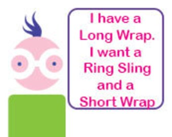 Ring Sling Conversion and Wrap Hemming