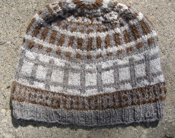 Knit Hat pattern: Off the Rails