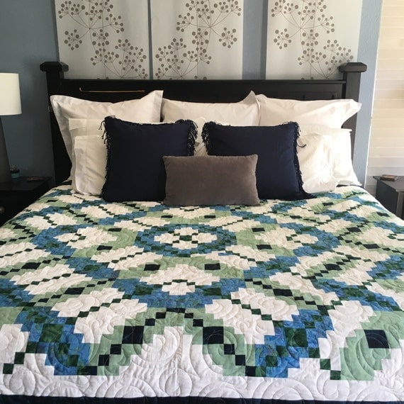 A Touch of Batik -  Hand Made Quilt