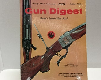 Gun Digest 1969 Deluxe Edition Gun Guide Price Guide Identification Guide