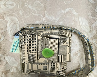 Handdyed Lucca Cityscape Bag