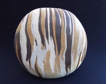 Tiger-Striped Vase